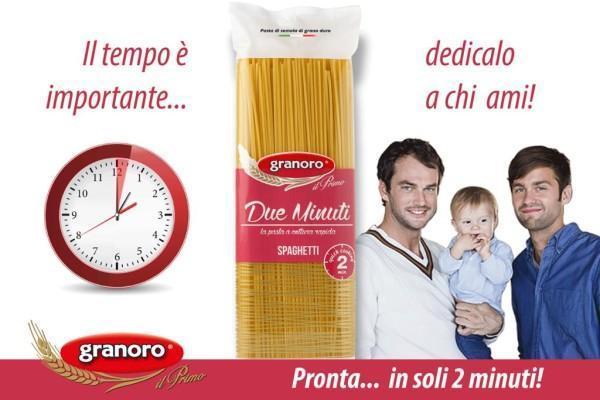 Campagna social Spaghetti Due Minuti Granoro