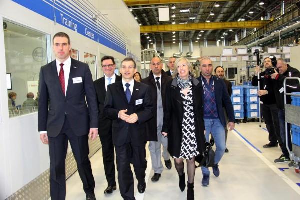 Evento visita ministro Stefania Giannini Bosch