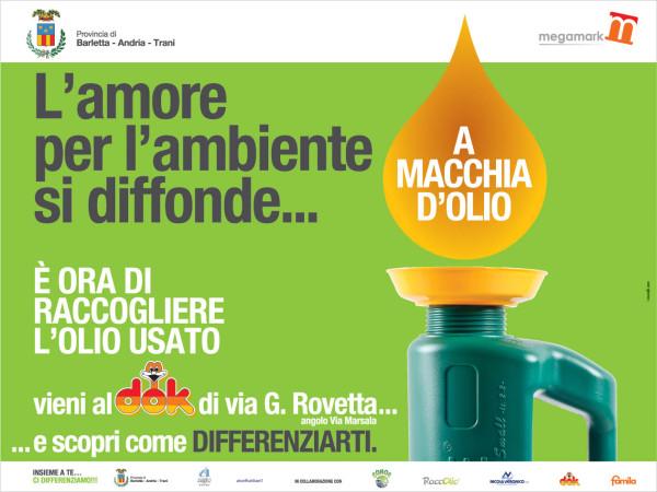 """Realizzazione progetto """"A Macchia d'Olio"""" Megamark"""