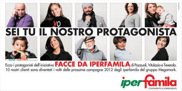 Campagne di comunicazione e cataloghi Iperfamila