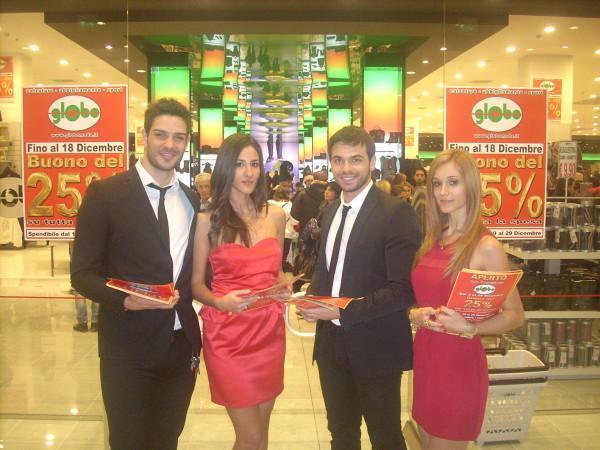 Evento inaugurazione Globo Bari