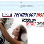 "Organizzazione evento e street marketing ""Technology Instinct"" Trony"