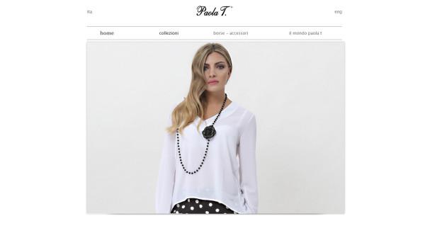 Realizzazione sito web Paola T