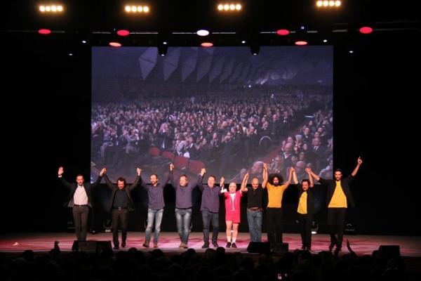 Evento premiazione vincitori bando Orizzonti Solidali Fondazione Megamark – Zelig Show