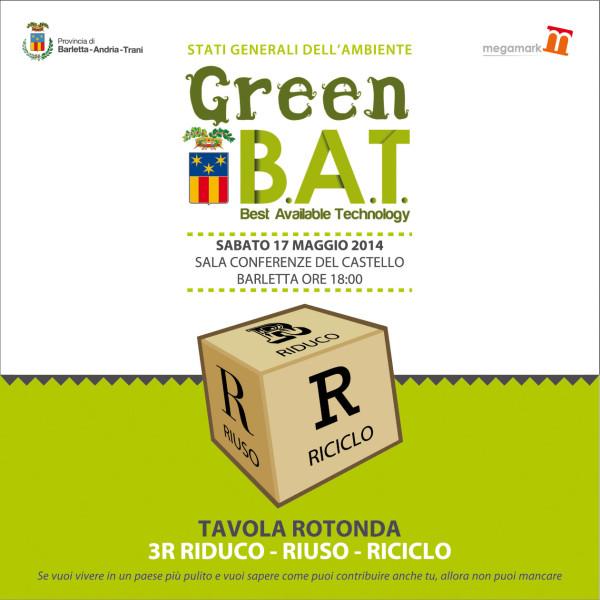 Organizzazione tavola rotonda GreenBat Megamark