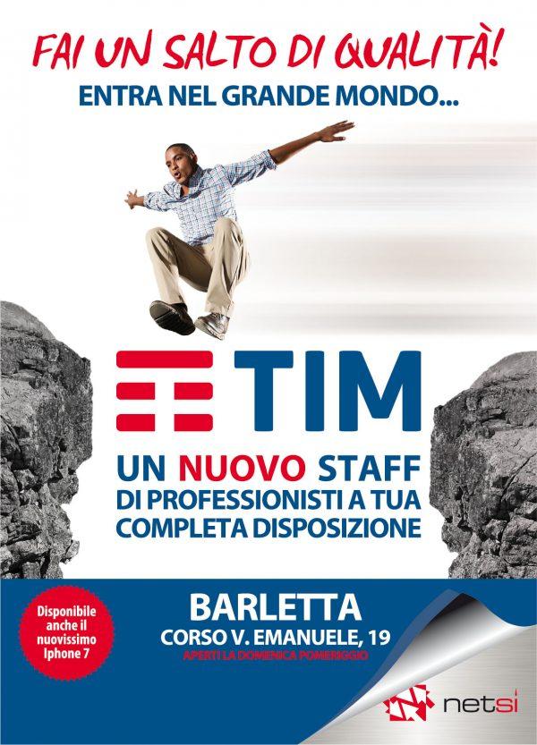 Campagna di comunicazione per Tim Barletta