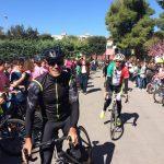 """""""Biciclettata di quartiere"""" con Mario Cipollini"""