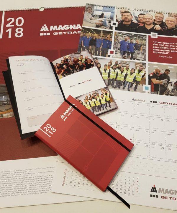 Calendario e agenda 2018 Getrag
