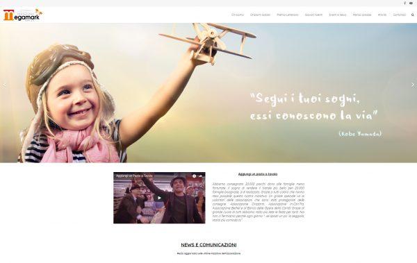 Sito web Fondazione Megamark