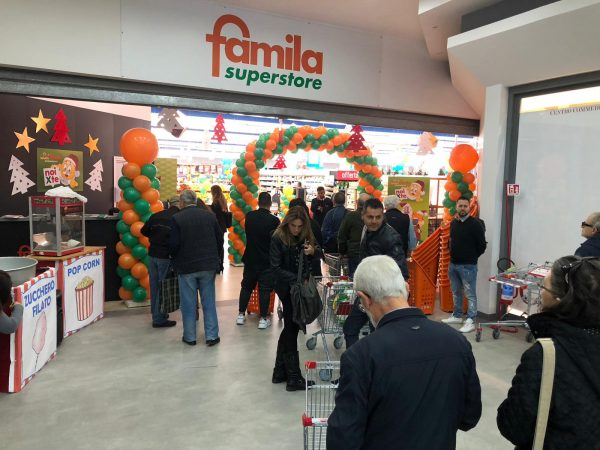 Inaugurazione pdv Famila Superstore Pozzuoli (Na) e Atripalda (AV)