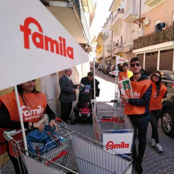 street marketing famila campania