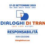 """Grafica e comunicazione """"I Dialoghi di Trani"""" 2019"""