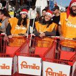 Attività di street marketing per Famila brindisi