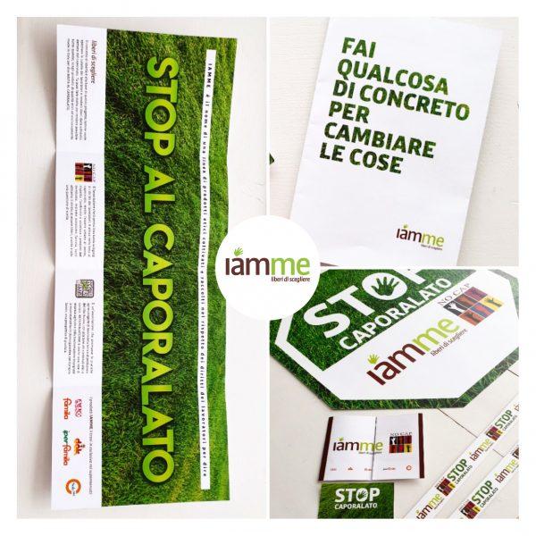 Naming, logo, comunicazione per marchio Iamme