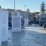 """Campagna ambient """"libri giganti"""" Premio Fondazione Megamark 2020"""