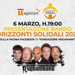 """Presentazione Bando """"Orizzonti Solidali 2021"""" – Fondazione Megamark (evento in streaming)"""